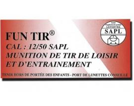 50 CARTOUCHES SAPL BALLE FUN TIR / CAL. 12/50
