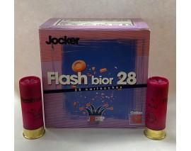 25 CARTOUCHES JOCKER FLASH BIOR CALIBRE 12/70 PLOMB 8 1/2