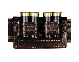 Cartouchière de ceinture luxe Cowboy Action Shooting
