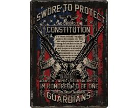 PLAQUE GUARDIANS OF CONSTITUTION