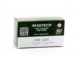 50 CARTOUCHES 308WIN FMJ 150GR