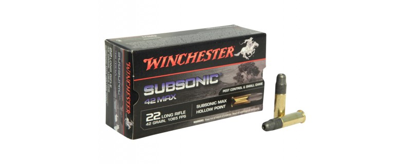 22LR SUBSONIC 42 MAX 42GR