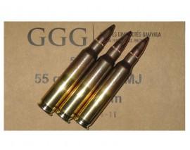 50 CARTOUCHES GGG .223 FMJ 55GR