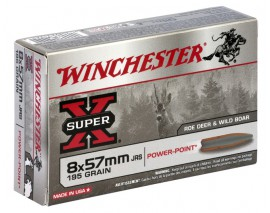 8x57JRS POWER POINT 195GR