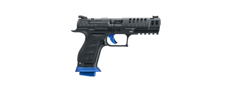 PISTOLET Q5 MATCH SF CHAMPION WALTHER CAL 9X19